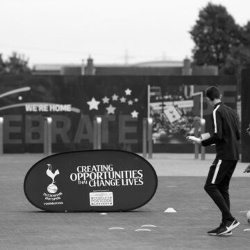 Tottenham Hotspur Foundation hosts family fun day at stadium